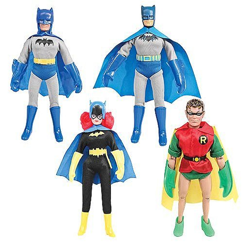 Batman First Appearances 8-Inch Retro Action Figure Set