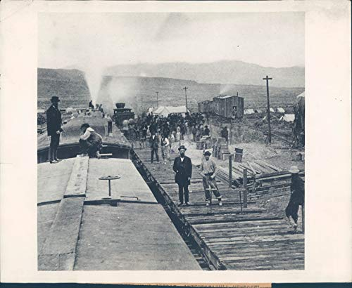 1929 Copy 1869 Historic Photo Anniversary Victory Continental Rail ()