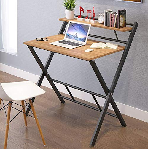 JKL - Mesa plegable para escritorio (80 x 50 x 74 cm): Amazon.es ...