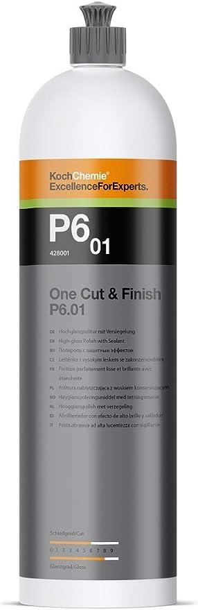 Koch Chemie One Cut Finish P6 01 1 Litre High Gloss Polish With Sealer Car Polish Auto