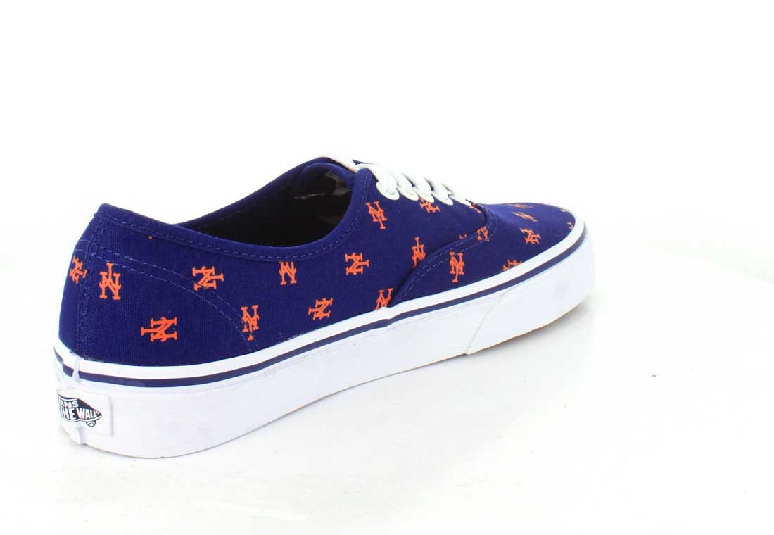 Vans US Authentic B01I42UXY8 6.5 M US Vans Women / 5 M US Men|New York Mets/Blue f7b556