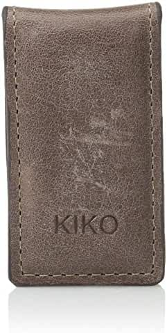 Kiko Leather Mens Magnetic Money Clip