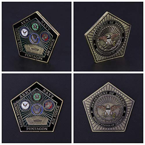 (Non-currency Coins - Commemorative Coin American Army Marine Pentagon Collection Arts Gifts Souvenir - Coin Coins Germany Bar Coin Us Chinese Marine Coin Coin Coin Trump Military Cotton U Coin)