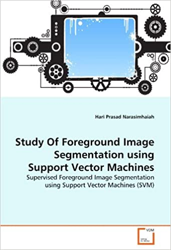 Study Of Foreground Image Segmentation using Support Vector