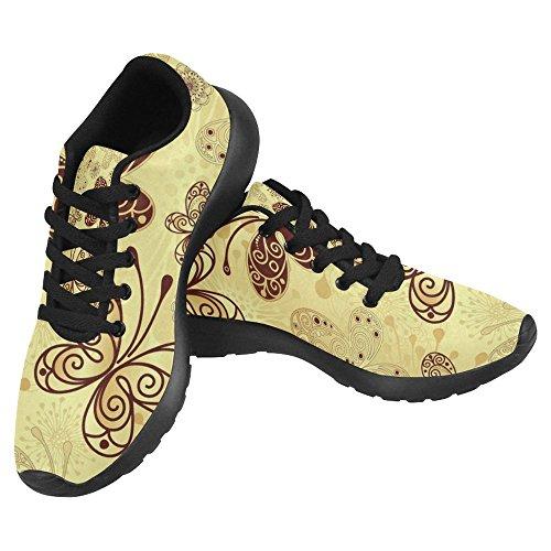 Interestprint Mujeres Jogging Running Sneaker Ligero Go Easy Walking Casual Comfort Deportes Zapatillas De Running Multi 6