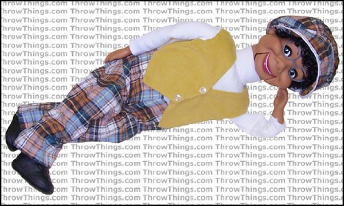 Lester Standard Upgrade Ventriloquist Dummy by ThrowThings.com