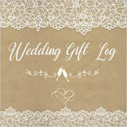 wedding gift log bridal shower gift log book wedding personal