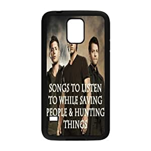 FLYBAI SPN Supernatural Phone Case For Samsung Galaxy S5 i9600 [Pattern-5]