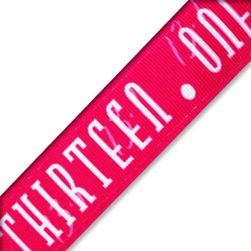 Nonslipスポーツヘッドバンド/ Thirteen。One – ピンクChicaバンド   B00HUAKFUI