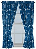 "Best Star Wars Home Curtain Panels - Jay Franco Star Wars Vehicle Schematics 63"" Inch Review"