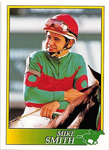 Mike Smith trading card (Horse Racing) 1993 Jockey Star #49