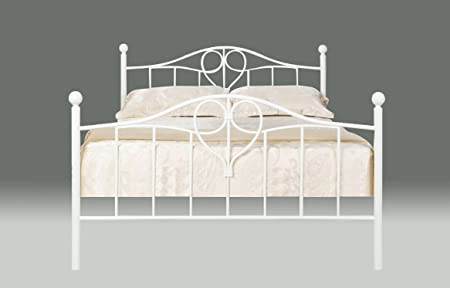 Home Stores Online Uk Furniture Lily Metal Bed Frame 4ft6 Double
