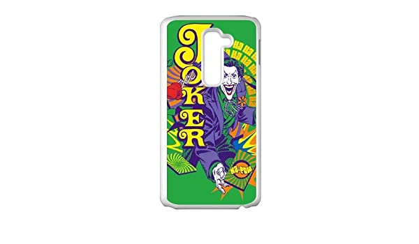 Choose a Card The Joker LG G2 Cell Phone Case White Delicate ...