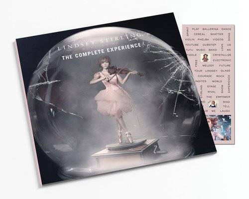 CD : Lindsey Stirling - Shatter Me: The Complete Experience-Zinepak (Limited Edition, With Magazine, Magnet, 2 Disc)