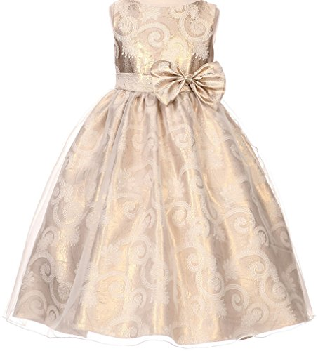 elegant-paisley-print-jacquard-big-girl-special-flower-girl-dresses-35k0d-gold-8