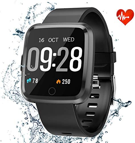 Activity Tracker, Heart Rate Monitor with Waterproof IP68 Smart Watch, 1.3 Color Screen Sleep Monitor Counter Calorie Watch, Fitness Watches for Women and Smart Watches for Men
