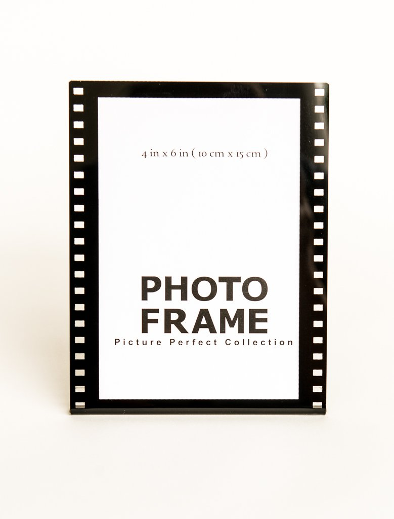Amazon.de: 4 x 6 Klar, Acryl Bilderrahmen Film Stil Hollywood Rahmen ...