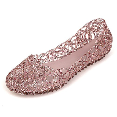 Party Eleganti Sandals Dolce Rosa Moda Simpatici Piatto Donna Casual Estate Minetom Sabot Scarpe Sandali Gelatina Estiva Nido zqPwaSY