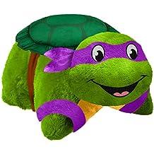 Nickelodeon TMNT Pillow Pets - Teenage Mutant Ninja Turtles Donatello Stuffed Animal Plush Toy