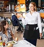 Utopia Wear 4 Pack 3 Pockets Waitress Apron, 24 x