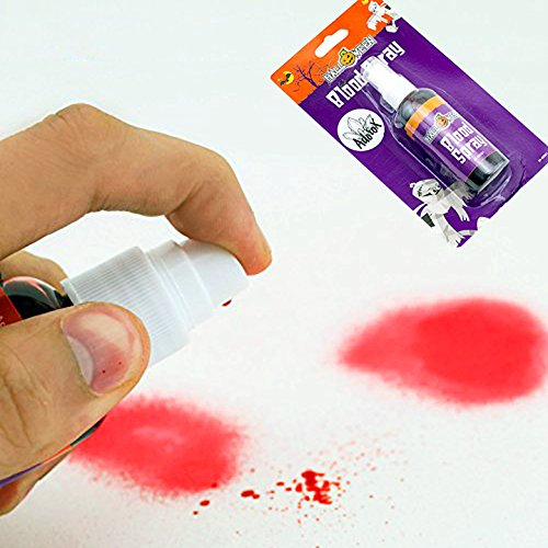 Adorox Halloween Vampire Zombie Horror Fake Blood Spray