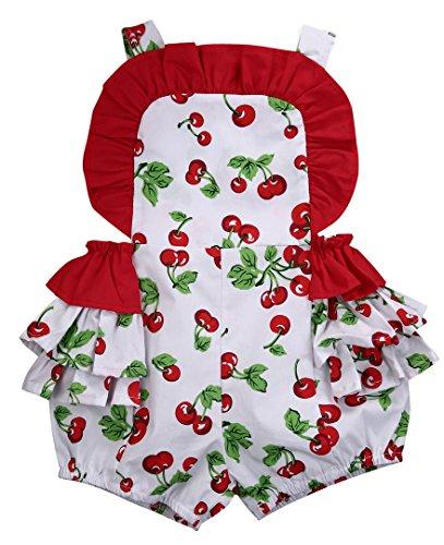 Cherries Bloomers Shorts Ruffle Bodysuit product image