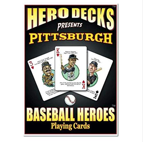 Hero Decks Pittsburgh Pirates Baseball Heroes Playing Cards