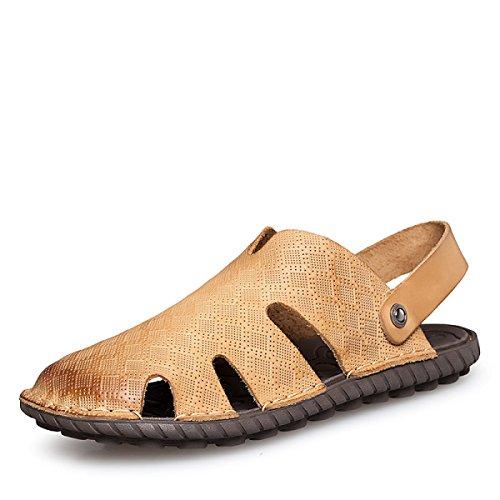 Peso Aire Al Libre Zapatos Sandalia Usos Verano Yellow Hombre Playa Fácil Lxxamens Dos Zapatilla Ligero Fijar EnPqwpvH