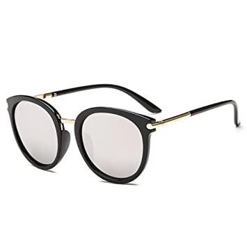Amazon.com: Fheaven (TM) Round Framed Sunglasses Women Men Vintage ...