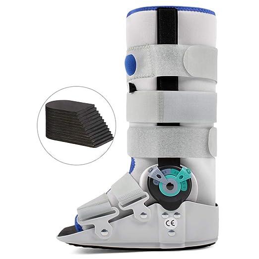 Bota de andador de fractura de ángulo ajustable con doble ...