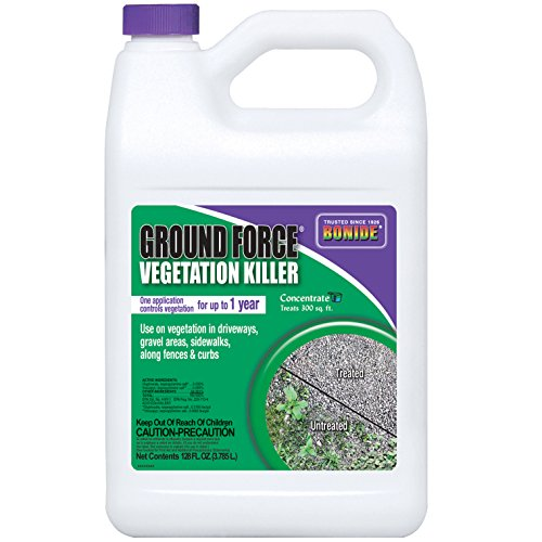 Bonide 5131 Ground Force Non-Selective Vegetation Concentrate Killer, 1 Gallon