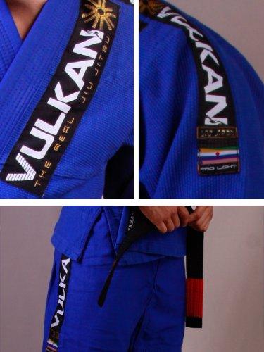 Vulkan Blue Pro Light Kimono (Gi) - A1