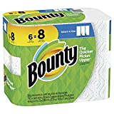 Bounty Select-A-Size Paper Towels, White, 6 ct
