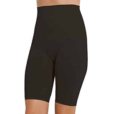 354407db84 NBB Women s Seamless Hi-Waist Tummy Control Body Shaper Slimming Shapewear  Thigh Slimmer Black Medium