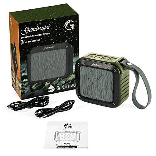Buy waterproof shockproof bluetooth speaker