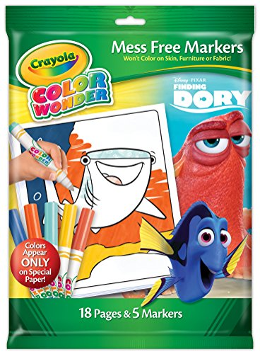 Crayola Finding Dory Color Wonder Paper & Markers -