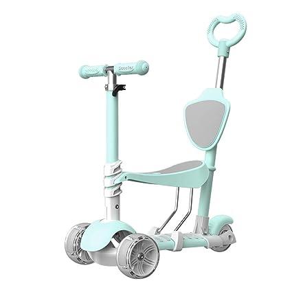 JIAAE Patinete para Niños Acero Aleación De Aluminio Scooter ...