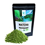 See In Organic Matcha (Cooking) - Super Premium Green Tea Powder, Latte, Light Green Color, K-Matcha, NOP, EU