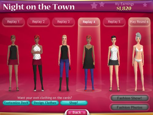 Fashion Solitaire - Free Online Fashion 11