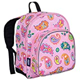 Wildkin 40210 Olive Kids Paisley 12 Inch Backpack, Pack 'n Snack,