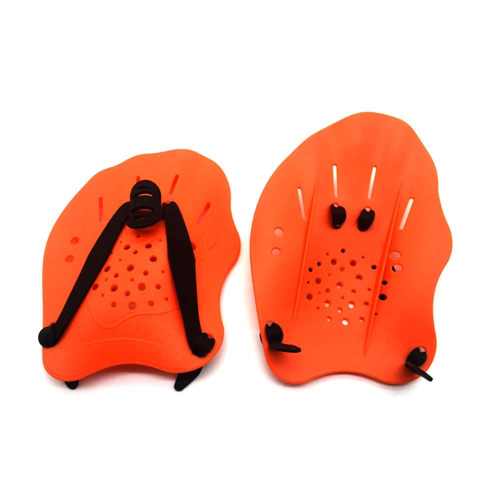 Wenyun Palas de natación para Entrenamiento de natación, Guantes ...