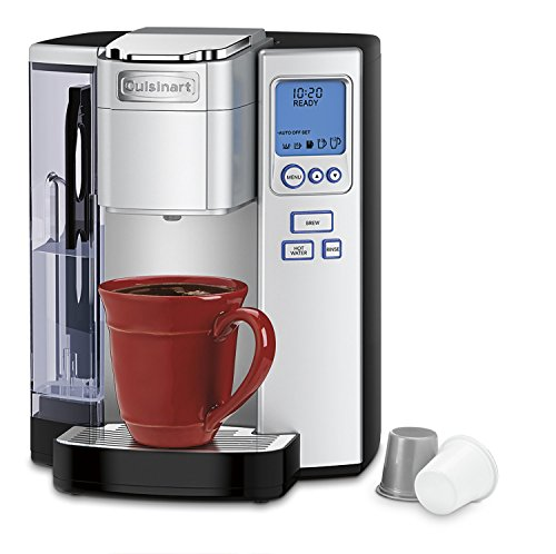 Cuisinart SS-10 Premium Single-Serve Coffeemaker, Stainless Steel - smallkitchenideas.us