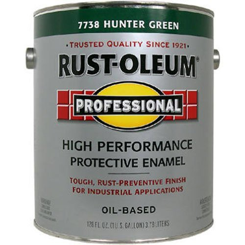 - RUST-OLEUM 7738-402 Professional Gallon Hunter Green Enamel Coating