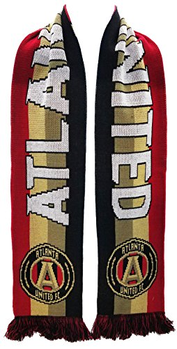 Official MLS Atlanta United Scarf - 7 Designs (Power Stripes)