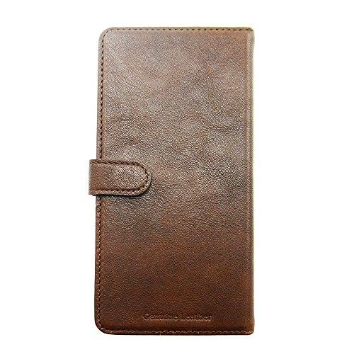 Uunique Handyschutzcover/Case, aus Leder, Hellbraun, mit Gemüse Slider Schutzhülle für iPhone 6, Braun