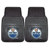 Best FanMats Fans - Fanmats NHL-Edmonton Oilers 2-Piece Heavy Duty Vinyl Car Review