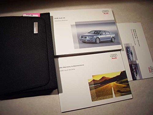 2008 Audi A6 A 6 Owners Manual