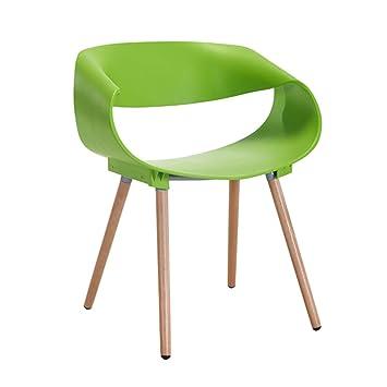 De Négociation Hzb Minimaliste Chaise Moderne Créative Verte FlcK1JT3