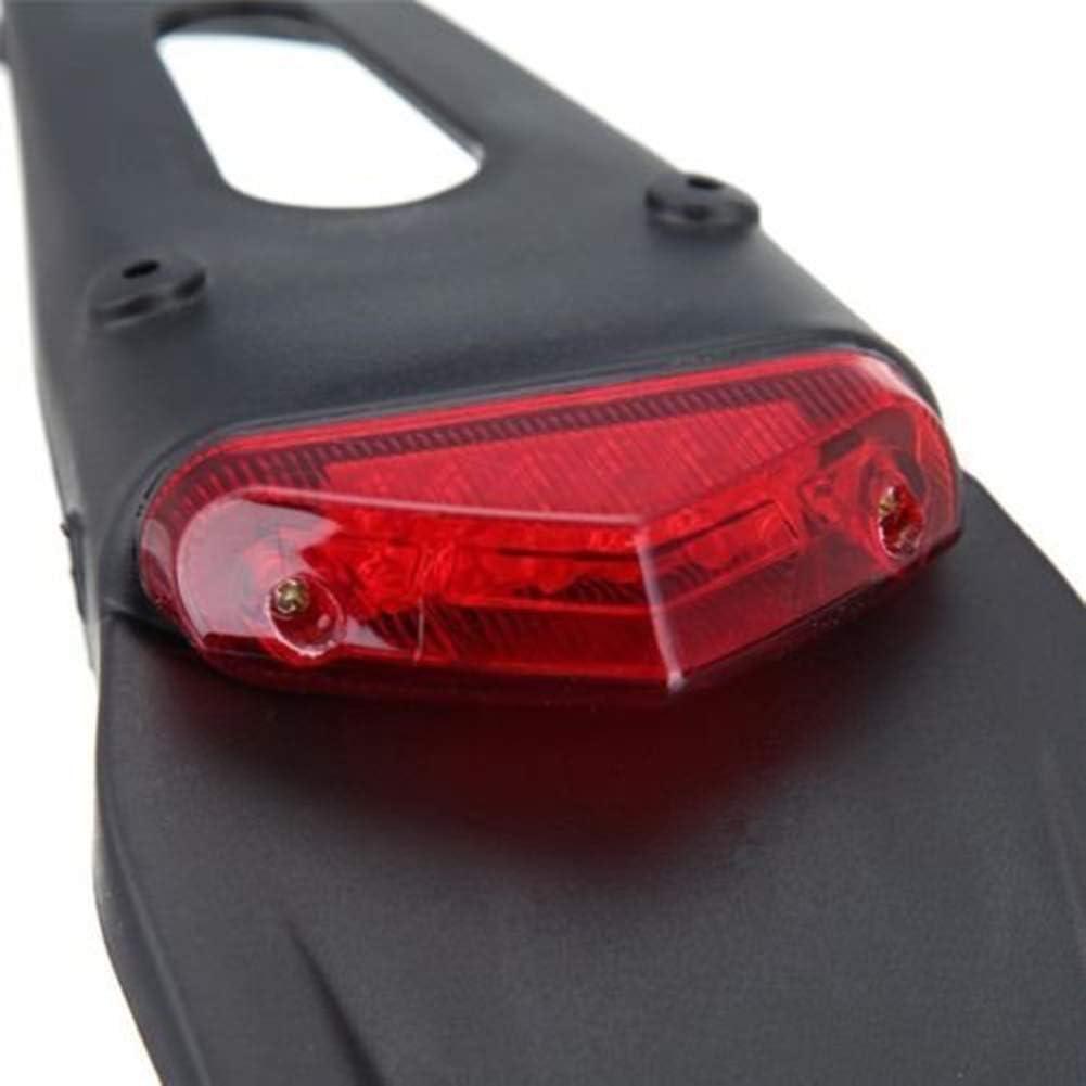 Lampada parafango posteriore parafango fanale posteriore a LED per moto da strada per Dirt Bike Motocross XR CRF KLX Enduro EXC Bancarelle mountain bike