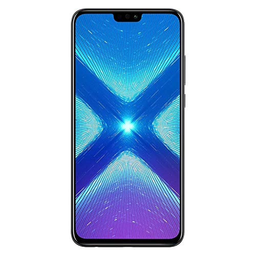 Huawei Honor 8X (64GB + 4GB RAM) 6.5 HD 4G LTE GSM Factory Unlocked Smartphone - International Version No Warranty JSN-L23 (Black)